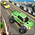 Drag Chained Cars 2018 - Tractor Driving Stunts 3d