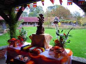 Photo: Kathina ceremony at Cittaviveka