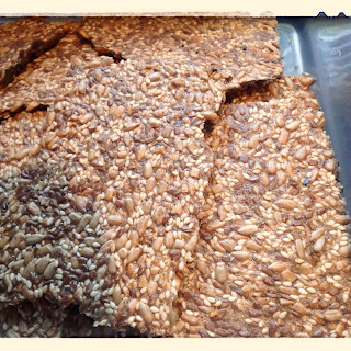 Munch, munch, munch…Seed Crisp Crackers (LCHF Friendly)