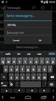 Screenshot of APRSdroid - APRS Client