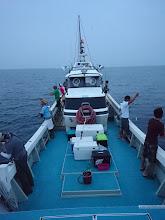 Photo: 今週も「近海半日ジギング」開催です! まずは「午前の部」スタートです!