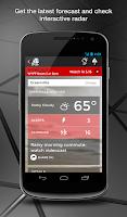 Screenshot of WYFF News 4 and weather