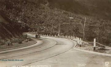Photo: Rodovia Washington Luis. Foto da década de 40