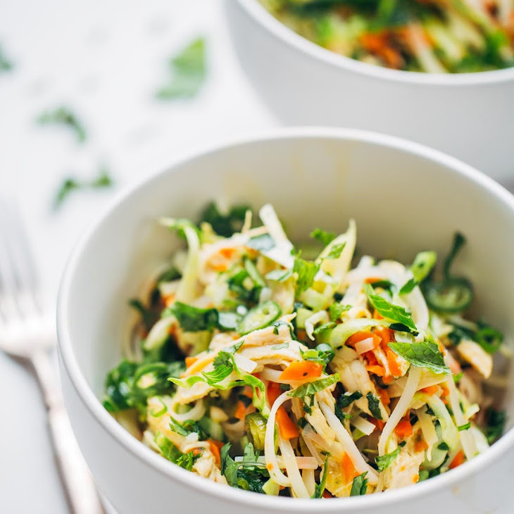 Vietnamese Chicken Salad with Rice Noodles Recipe