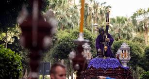 El Señor de Pasión, en el Lunes Santo de 2019.