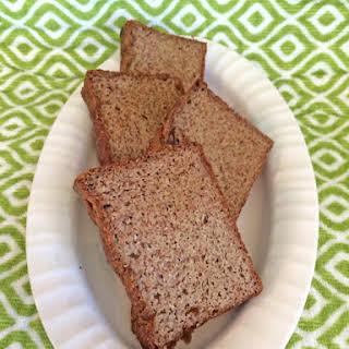 Healthy, Gluten-Free, Paleo-Friendly Banana Bread.