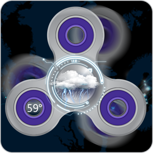 Virtual Fidget Spinner Game (app)