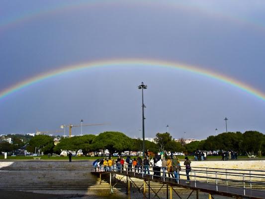 Arcobaleno a Lisbona.. di Misst