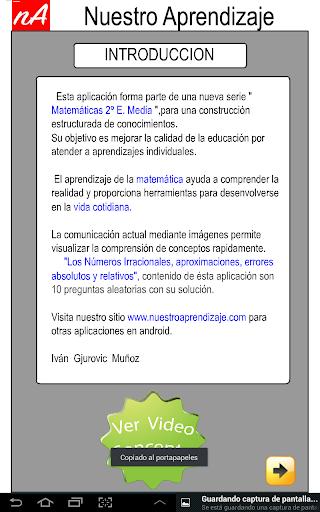 Nu00fameros Irracionales Aproximar 1.0.0 screenshots 2