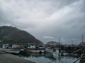 Photo: 時折、雨が降ってますがガンバリます。