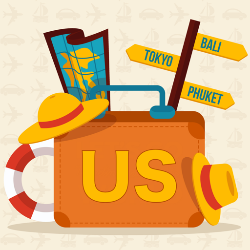 旅游のアメリカの旅行ガイド LOGO-記事Game