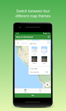 Maps on Chromecast    Map app for your TVのおすすめ画像5