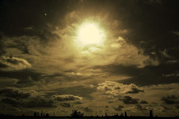 Sole in controluce di Bibanto