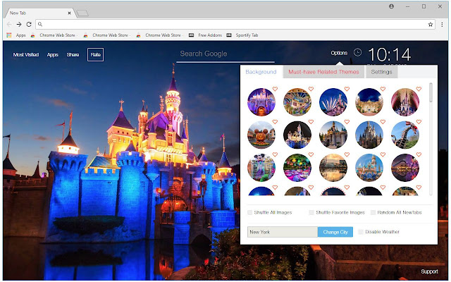 Disneyland Wallpapers New Tab Freeaddon Com