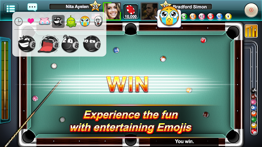 Pool Ace: capturas de pantalla de 8 Ball y 9 Ball Game 3