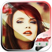 Syria Flag Photo Editor