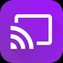 Video & TV Cast | Roku Remote & Movie Stream App icon