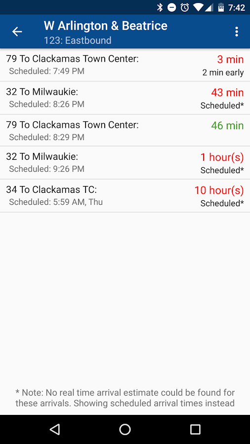 TriMet Tracker Free- screenshot