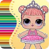 Coloring Book For sureprise Doll Mod