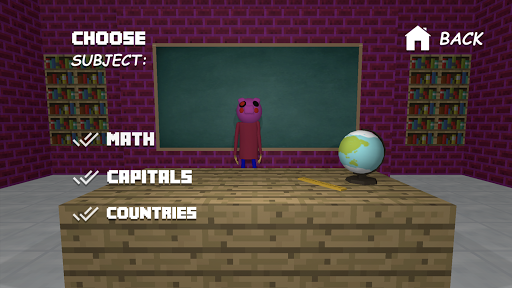 Piggy Scary School Game ! 10.0 screenshots 7
