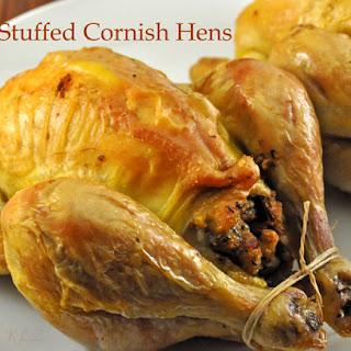 Stuffed Cornish Hens With Stuffing Recipes.