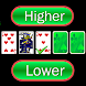 Higher or Lower card game - Androidアプリ