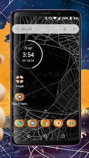 Pumpkin Halloween Theme - Wallpapers and Icons Screenshot