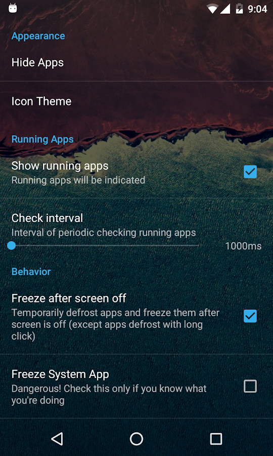 Cold Launcher- screenshot