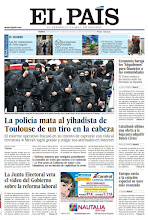 Photo: La policía mata al yihadista de Toulouse de un tiro en la cabeza y la Junta Electoral veta el vídeo del Gobierno sobre la reforma laboral, en nuestra portada del viernes 23 de marzo http://srv00.epimg.net/pdf/elpais/1aPagina/2012/03/ep-20120323.pdf