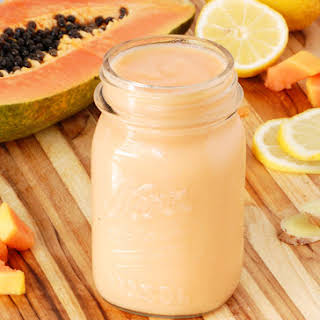Tummy Tamer Papaya Smoothie.