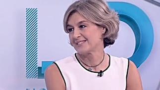 La exministra García Tejerina durante su participación en 'Los Desayunos' de TVE.