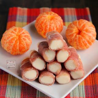Prosciutto-Wrapped Mozarella Sticks