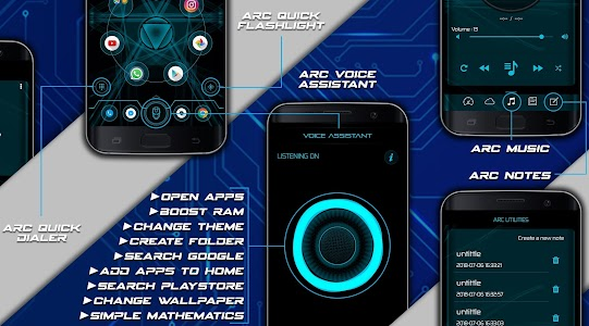 Arc Launcher Pro💎 HD Themes,Wallpapers,Booster 9 5 (Patched + AOSP