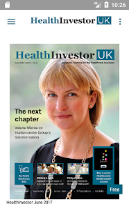 HealthInvestor UK- screenshot thumbnail