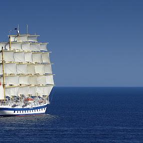 Royal Clipper by Ivanka Ruter - Transportation Boats
