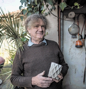 Hans Fouche went from Formula One to printing in plastic and cement. Picture: Beautiful News