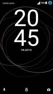 theme XZ1 - náhled