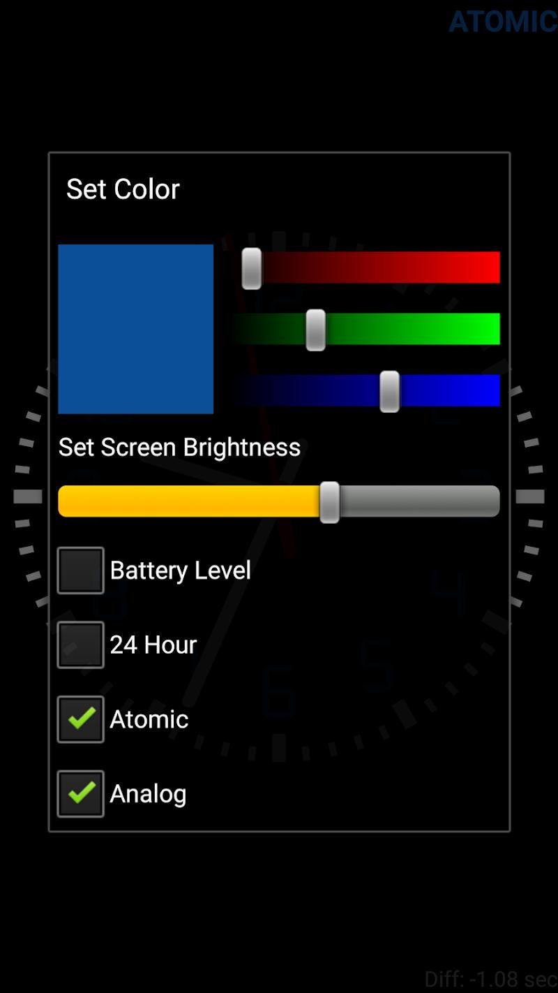 Clock Seconds Pro + Widget Screenshot 3