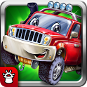 Puzzles for children! Car games for boys! Baby app icon