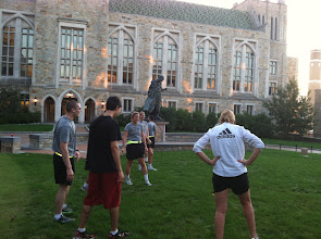 Photo: Open Physical Training with the BC Community