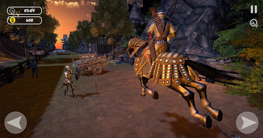 Archery King Horse Riding Game - Archery Battle screenshots 11