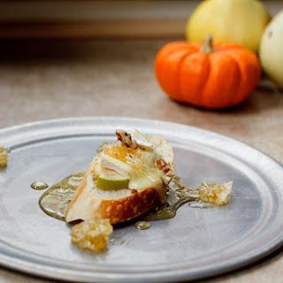 Apple, Honeycomb, & Brie Crostini Recipe