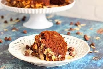 Chocolate and Zucchini Praline Bundt Cake