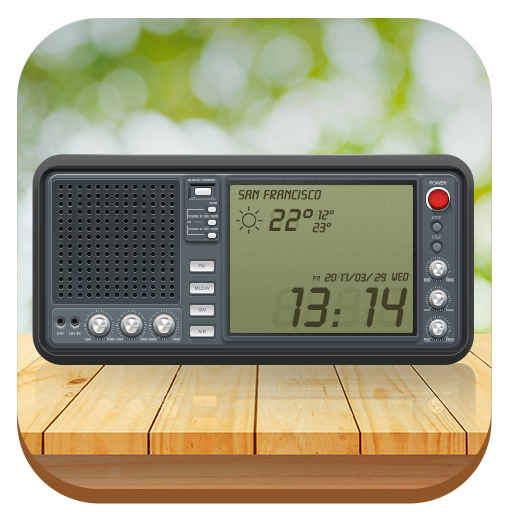weather widget&digital clock