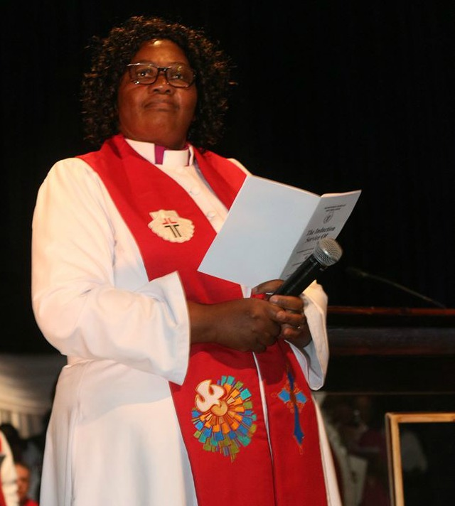 Reverend Purity Malinga was on Sunday inducted as the church's 100th bishop.