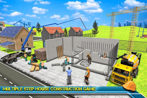 Modern Home Design & House Construction Games 3D 1.0.2 de.gamequotes.net 1