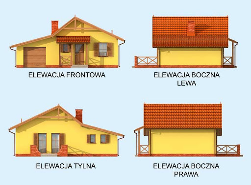 Bolzano - Elewacje