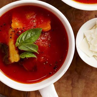 Tomato and Ravioli Soup