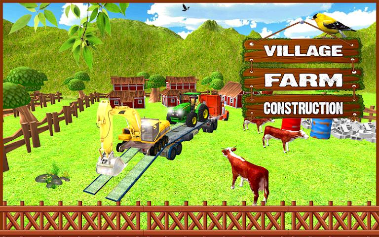 android Farm Construction Simulator Screenshot 5