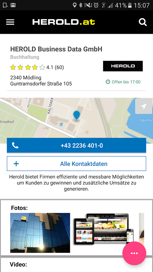 HEROLD mobile- screenshot